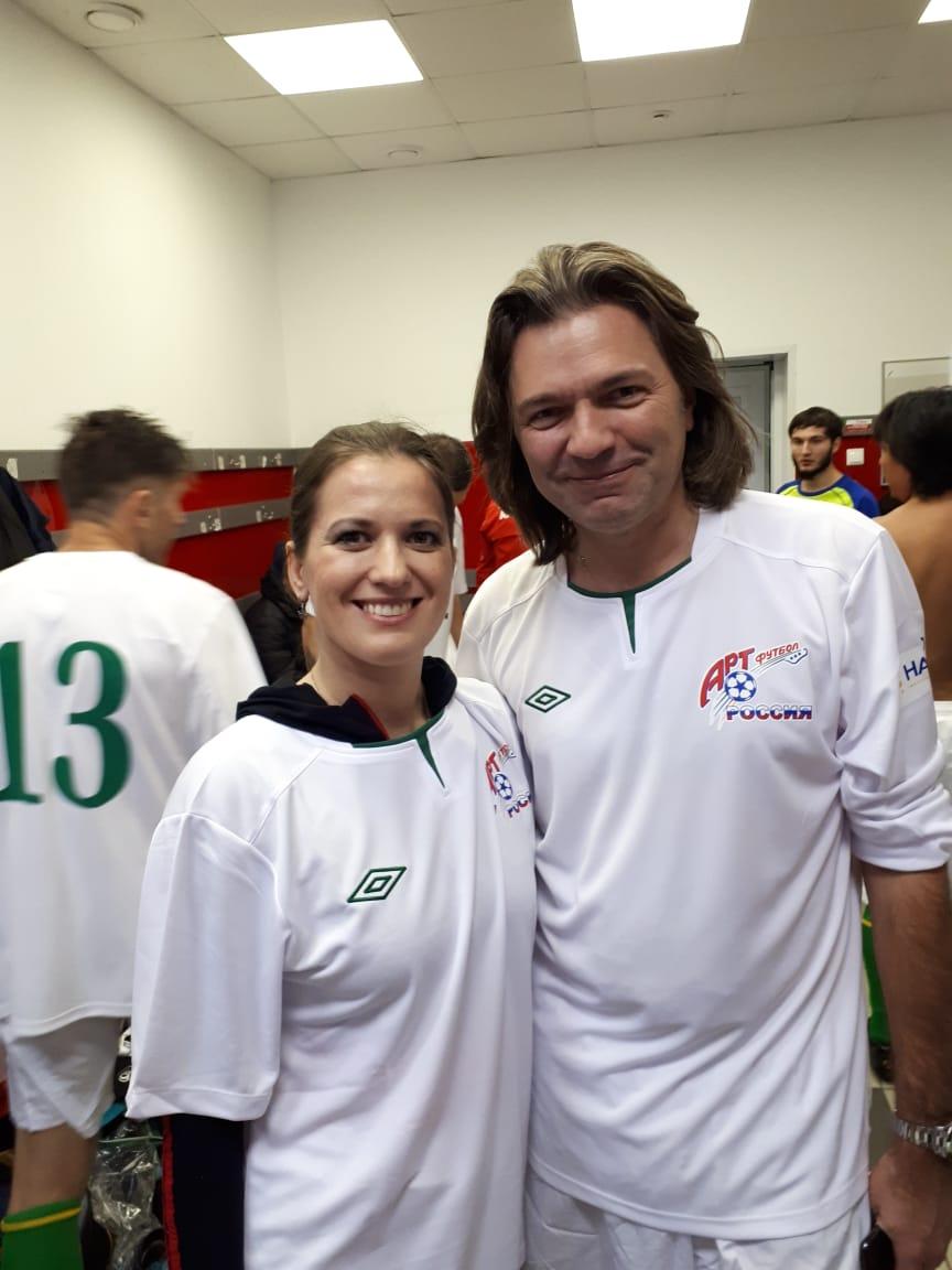 Арт футбол фестиваль 2018 Декабрь, Анастасия Раинская и Дмитрий Маликов